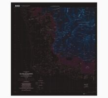 USGS TOPO Map Federated States of Micronesia FM Island Of Pohnpei (Southwest) 462385 2001 25000 Inverted Kids Tee
