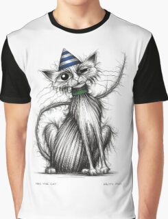 Fred the cat Graphic T-Shirt