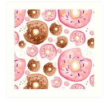 Donut Foodies Art Print