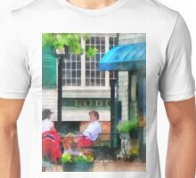 Newport RI Cafe Unisex T-Shirt