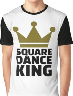 Square dance king Graphic T-Shirt