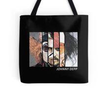 Johnny Depp Characters Tote Bag