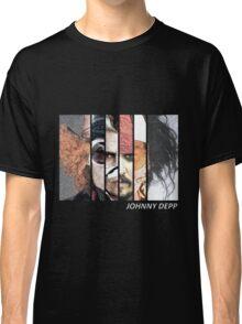 Johnny Depp Characters Classic T-Shirt