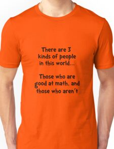 Math People Unisex T-Shirt