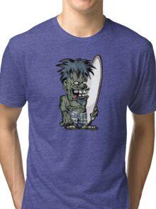 Krazy Kook Surfer Tri-blend T-Shirt