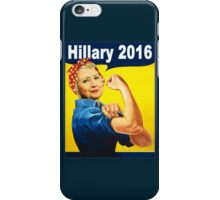 hillary 2016 iPhone Case/Skin