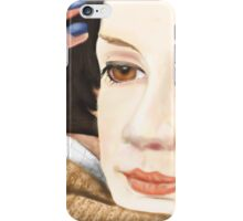 Amy Pond and the 11th Doctor iPhone Case/Skin