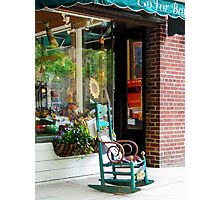 Princeton NJ - Rocking Chair by Boutique Photographic Print