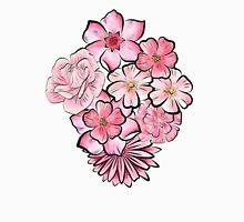 Pink floral  Unisex T-Shirt