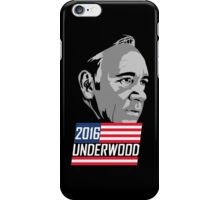 underwood house of card iPhone Case/Skin