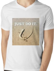 Just do it  Mens V-Neck T-Shirt