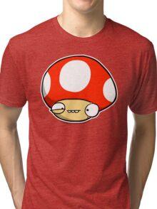 Twitchy Mushroom Tri-blend T-Shirt