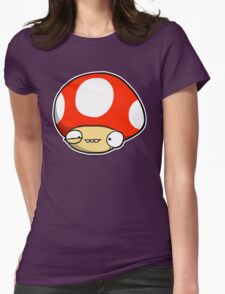 Twitchy Mushroom Womens Fitted T-Shirt