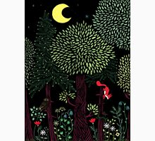 Into The Woods At Night Unisex T-Shirt