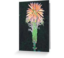 Wacky flower Greeting Card