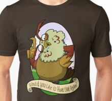 Would you like to hurrrr that again...? Unisex T-Shirt