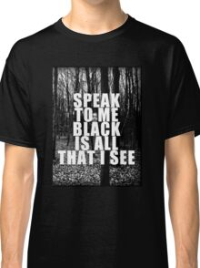 Asking Alexandria Lyrics The Black Classic T-Shirt
