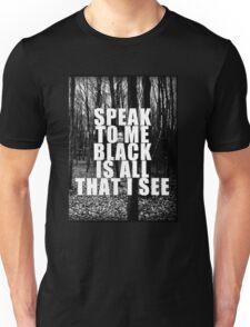 Asking Alexandria Lyrics The Black Unisex T-Shirt