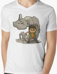 Brocking it! Mens V-Neck T-Shirt