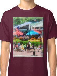 Baltimore MD - Strolling Around Inner Harbor  Classic T-Shirt