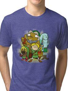 The kid behind the masks Tri-blend T-Shirt