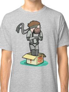 He thinks he's hiding... Classic T-Shirt
