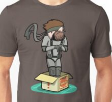 He thinks he's hiding... Unisex T-Shirt