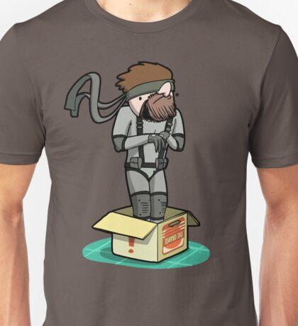 He thinks he's hiding... Unisex T-Shirt