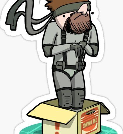 He thinks he's hiding... Sticker