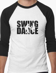 Swing dance Men's Baseball ¾ T-Shirt