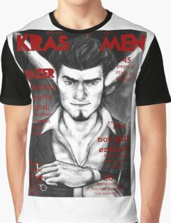 Razer Cover Kras Men Magazine Graphic T-Shirt