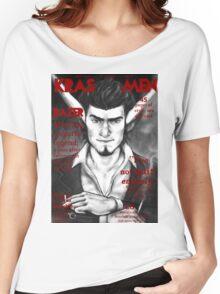 Razer Cover Kras Men Magazine Women's Relaxed Fit T-Shirt