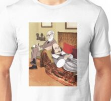 Freud analysing Shakespeare Unisex T-Shirt