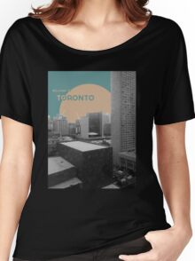 Welcome to Toronto! Women's Relaxed Fit T-Shirt