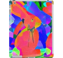 Parade of the Psychedelic Bunnies iPad Case/Skin