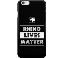 Rhino Lives Matter iPhone Case/Skin