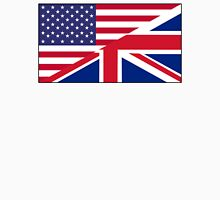 ANGLO AMERICAN FLAG, USA, America, Great Britain, Union Jack, Stars & Stripes Unisex T-Shirt