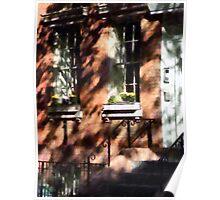 Manhattan NY - Window Boxes Greenwich Village Poster