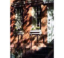 Manhattan NY - Window Boxes Greenwich Village Photographic Print