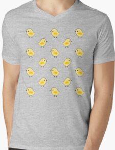 Busy Chicks - Aqua Mens V-Neck T-Shirt