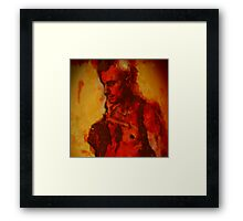 Blood Red #3 Framed Print