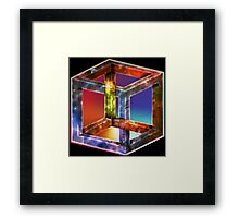 Best Impossible Cube - VERY HIGH RESOLUTION Framed Print