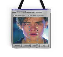 dicaprio crying  Tote Bag