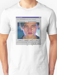 dicaprio crying  Unisex T-Shirt