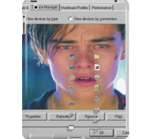 dicaprio crying  iPad Case/Skin