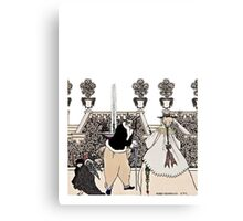 The Driving of Cupid From the Garden Canvas Print