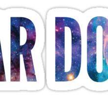 Bear Down Galaxy Sticker