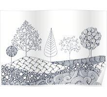 Tree Scene Poster