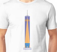 FREEDOM - T-Shirt Freedom Tower NYC Unisex T-Shirt