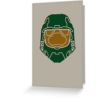 Halo Master Chief Greeting Card